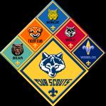 cub_scout_group_logos_sticker__92323